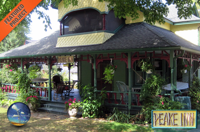 Peake Inn Chatauqua Cottage in Niagara-On-The-Lake | Old School Painting