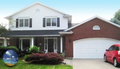 Annual Home Maintenance: Complete Wash, Touch-up Windows, Vents, Doors, Garage, Pillars; New Colour Shutters