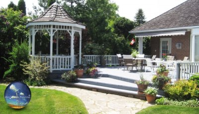 Stunning country gazebo, deck/patio & balcony wash, prep, and paint