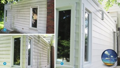 Ultimate Niagara Home Exterior Wash & Painting Plus Deck Refinishing Project