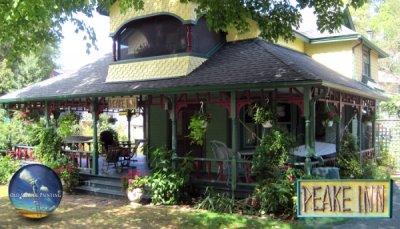 Top-to-Bottom Exterior Refinishing for NOTL Historic Peake Inn Cottage
