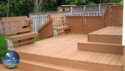Deck Refinishing & Staining To Prep For Housing Market